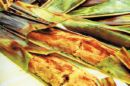 Otak Otak (Fish Mousse Grilled On a Banana Leaf)