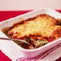 Cannelloni with Cheese Sauce